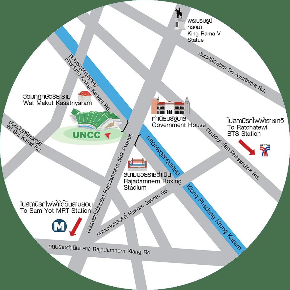 แผนที่ MBA Siam University Conference 2020