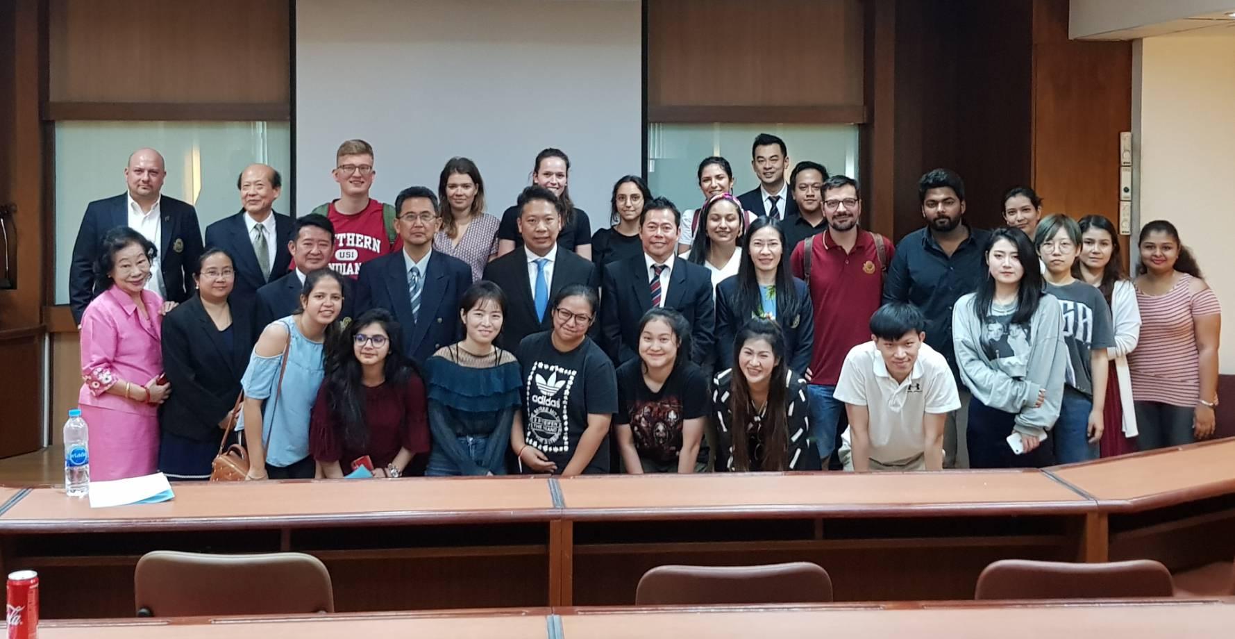 ต้อนรับนักเรียนใหม่ บริหารธุรกิจมหาบัณฑิต มหาวิทยาลัยสยาม (MBA) ภาคเรียนที่ 2/2562